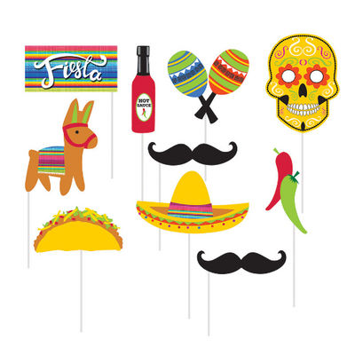 Fiesta Photo Props/ 10 Count/Assorted sizes