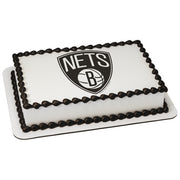 Brooklyn Nets Edible Image Cake Topper
