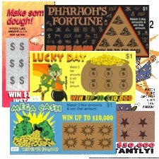 Gag Fake Lottery Tickets