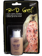 Mehron Make-up Flesh 3-D Gel