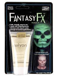 Mehron Fantasy FX Glow in the Dark Cream Make-Up 1oz