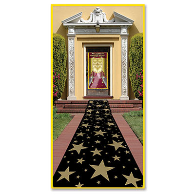 "Gold Star Aisle Runner / 24"" x 10'"