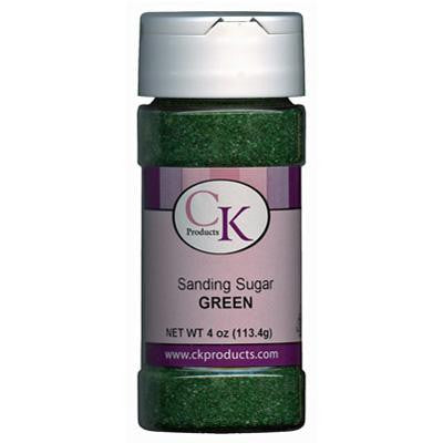 Green Sanding Sugar Sprinkles