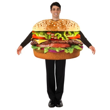 Adult Hamburger Costume