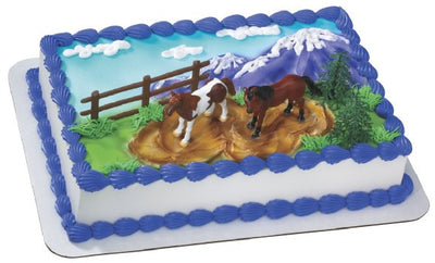 Horse Cake Decorating Kit