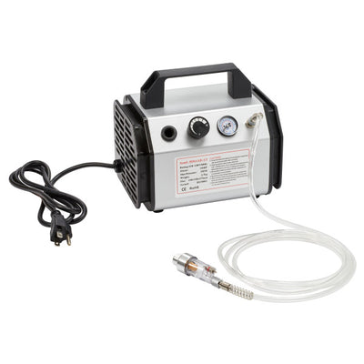Airbrush Compressor and Dual Action Gun Complete Set