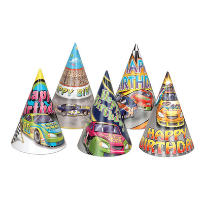 Racing Party Hats