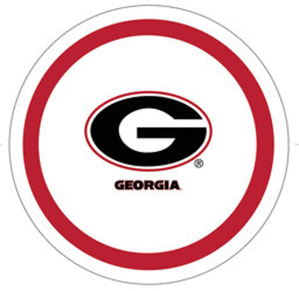 UGA Party Dinner Plate