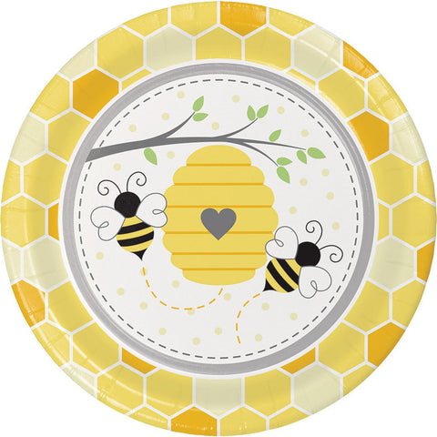 Bumble Bee Dinner Plates