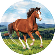 Horse Party Dinner Plates