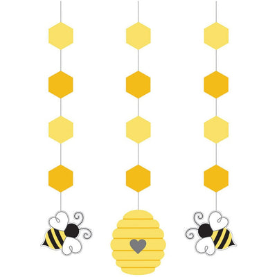 Bumble Bee Party Hanging Cutouts