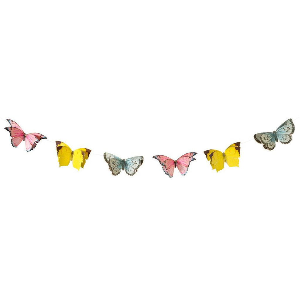 Fairy Party Butterfly Banner
