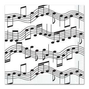 Musical Note Large Napkins