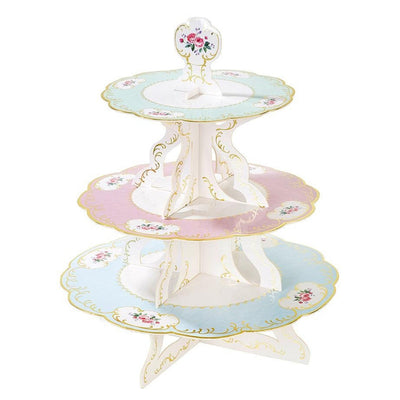 Vintage Tea Party Cake Stand
