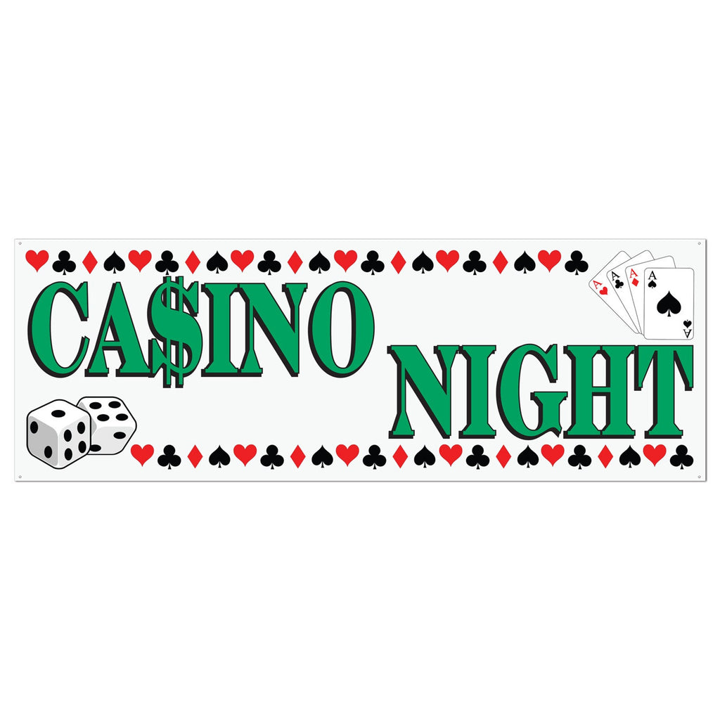 Casino Night Banner