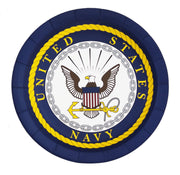 US Navy Large Party Plates