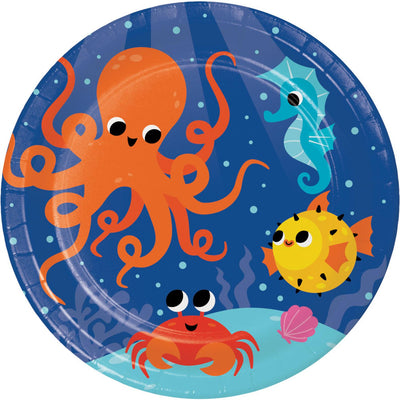 Under the Sea Party Plates