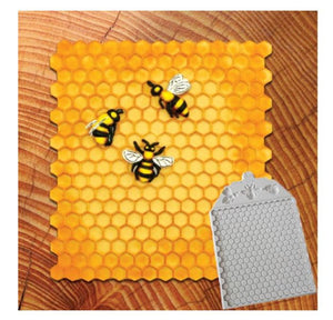 Bee Honeycomb Silicone Mold