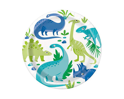 Dinosaur Party Large Plates