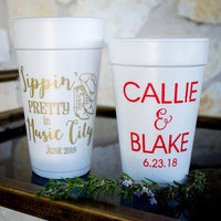 Foam Personalized Cups / 50 Count