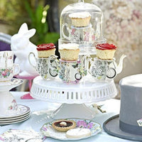 Alice in Wonderland Teapot Cake Stand