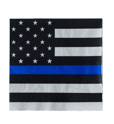 Police Party Napkins