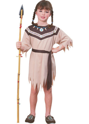 Native American Indian Princess Girl's Costume