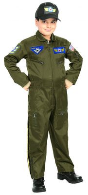 Kids Air Force Fighter Pilot Costume