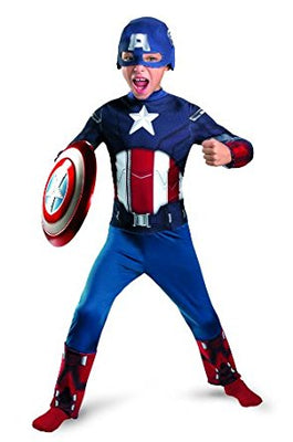 Kid's Captain America Costume