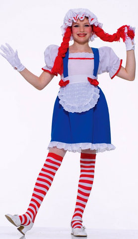 Girl's Rag Doll Anne Costume