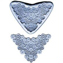 Large Lace Border Silicone Mold