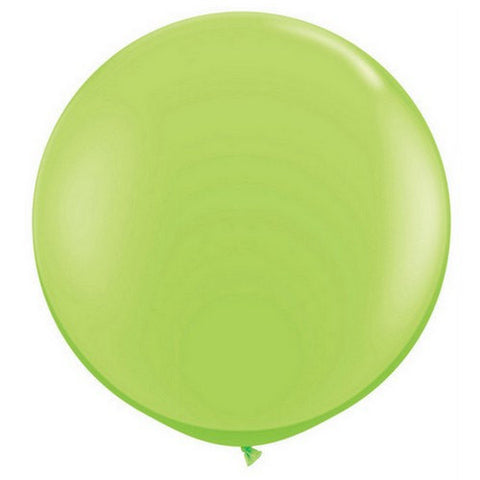 Large Round Lime Green Balloons