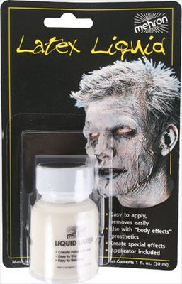 Mehron Liquid Latex Make-Up Clear 1 oz