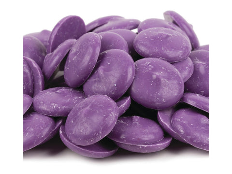 Merckens Melting Purple Orchid Chocolate Wafers | 1 lb.