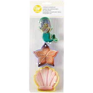 Wilton Mermaid Cutter Set