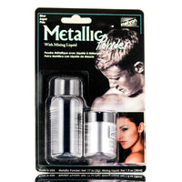 Silver Metallic Powder With Mixing Liquid