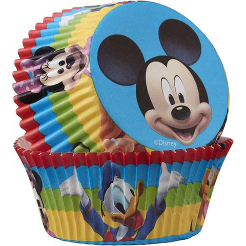 Disney Mickey Mouse Cupcake Liners 50 Pack