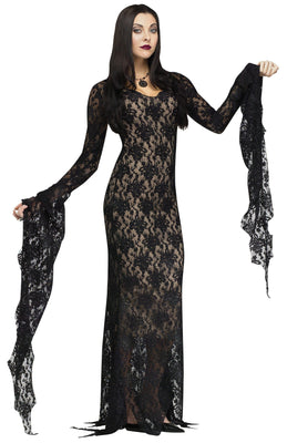 Deluxe Sexy Lace Vampiress Lace Costume