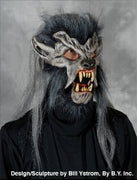 Zagone Grey Werewolf Moving Mouth Mask