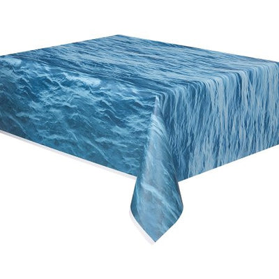 Ocean Waves Table Cover
