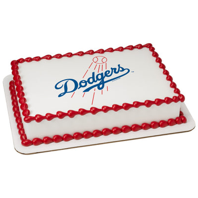 Los Angeles Dodgers Edible Image Cake Topper