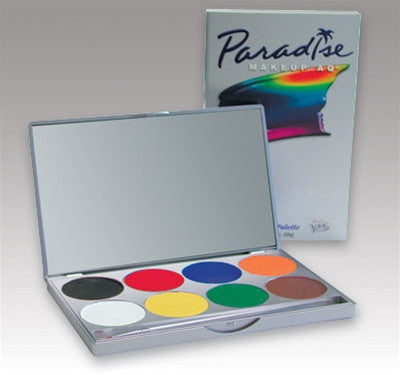Paradise Basic Colors Face Paint Palette