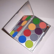 Paradise Tropical Colors Face Paint Palette