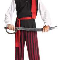 Caribbean Pirate Boy's Costume