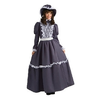 Adult Prairie Dress Pioneer Lady Costume