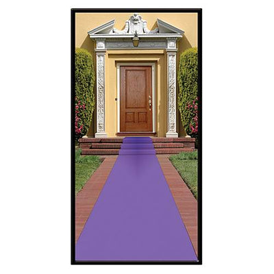 Aisle Runner - Purple/15 feet x 24 inches