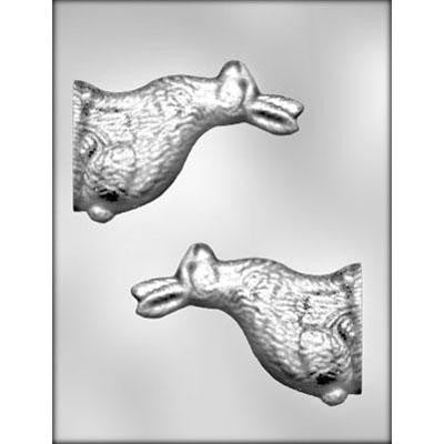 3-D Classic Easter Rabbit Chocolate Mold