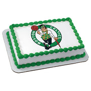 Boston Celtics NBA Edible Image Cake Topper