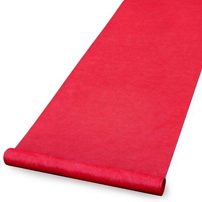 Deluxe Red Carpet Aisle Runner