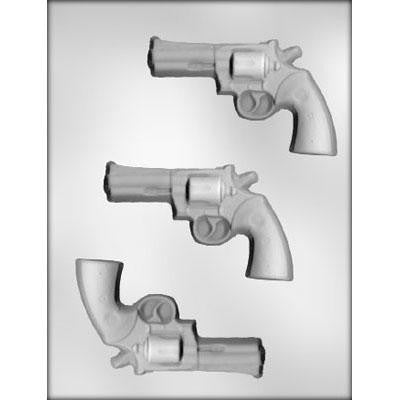 Revolver Hand Gun Chocolate Mold